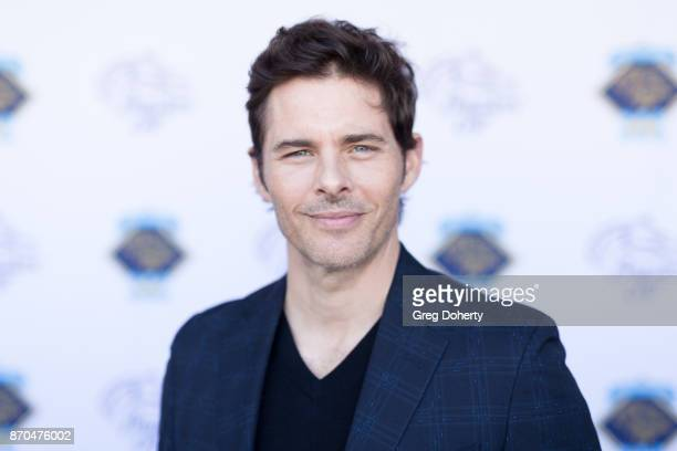 Actor James Marsden attends the 2017 Breeders' Cup World Championship at Del Mar Thoroughbred Club on November 4 2017 in Del Mar California