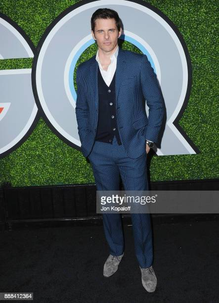 Actor James Marsden attends the 2017 GQ Men Of The Year Party at Chateau Marmont on December 7 2017 in Los Angeles California