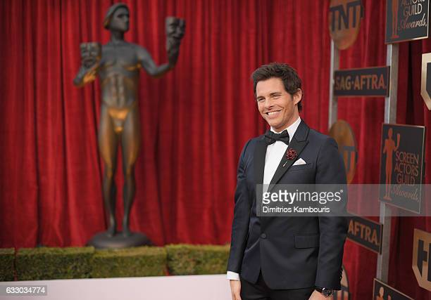 Actor James Marsden attends The 23rd Annual Screen Actors Guild Awards at The Shrine Auditorium on January 29 2017 in Los Angeles California 26592_009