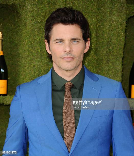 Actor James Marsden attends the 8th annual Veuve Clicquot Polo Classic at Will Rogers State Historic Park on October 14 2017 in Pacific Palisades...