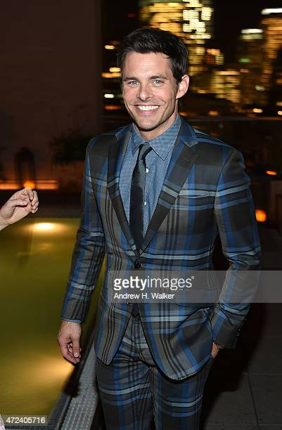 Actor James Marsden attends the after party IFC's 'The D Train' New York premiere hosted by The Cinema Society and Banana Boat at The Jimmy at the...