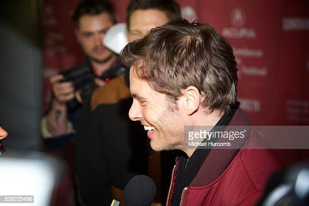 "Actor James Marsden attends ""The D Train"" premiere at the 2015 Sundance Film Festival"
