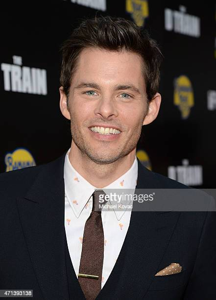 Actor James Marsden attends the Los Angeles premiere of IFC Films' 'THE D TRAIN' presented by Banana Boat at ArcLight Hollywood on April 27 2015 in...