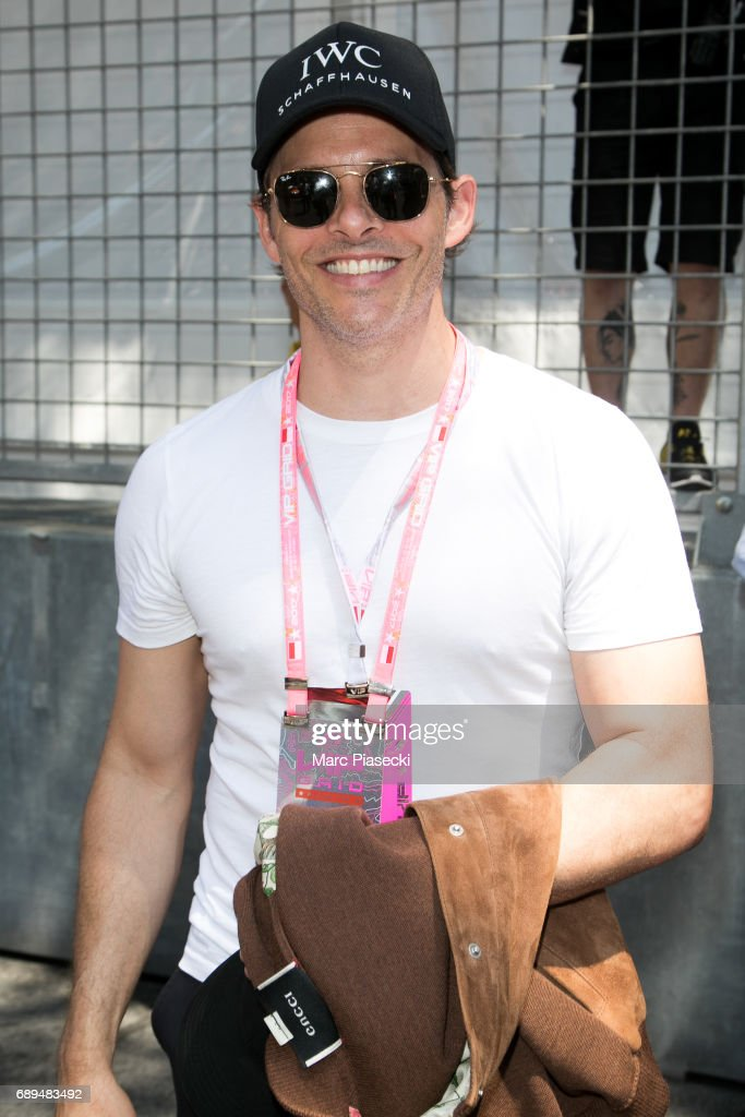 Actor James Marsden attends the Monaco Formula 1 Grand Prix at the Monaco street circuit, on May 28, 2017 in Monaco.