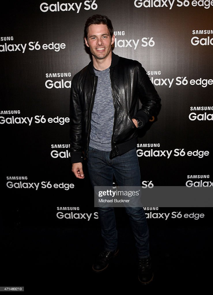 Actor James Marsden attends the Samsung Studio LA Launch Event across from the Grove on April 28, 2015 in Los Angeles, California.