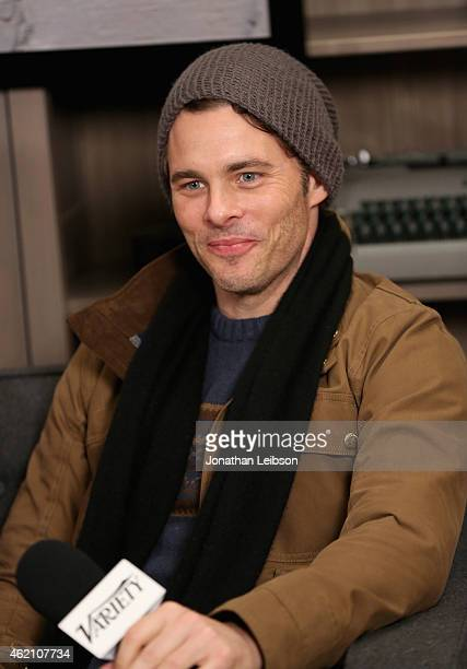 Actor James Marsden attends the The Variety Studio At Sundance Presented By Dockers on January 24 2015 in Park City Utah