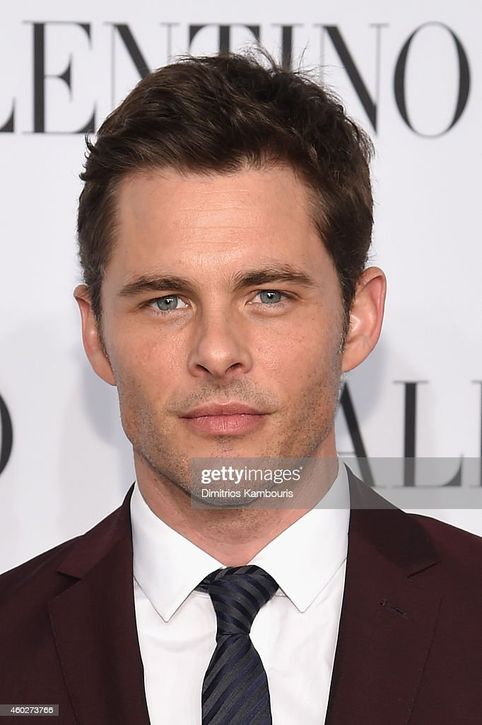Actor James Marsden attends the Valentino Sala Bianca 945 Event on December 10, 2014 in New York City.