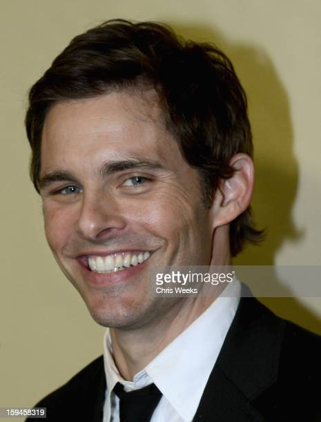 Actor James Marsden attends The Weinstein Company's 2013 Golden Globe Awards after party presented by Chopard HP Laura Mercier Lexus Marie Claire and...