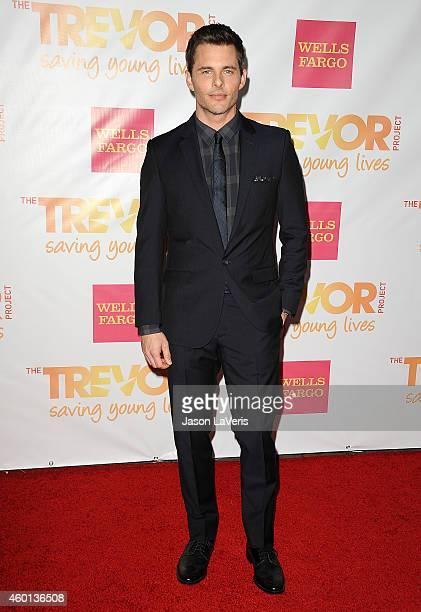 Actor James Marsden attends TrevorLIVE Los Angeles at the Hollywood Palladium on December 7 2014 in Los Angeles California
