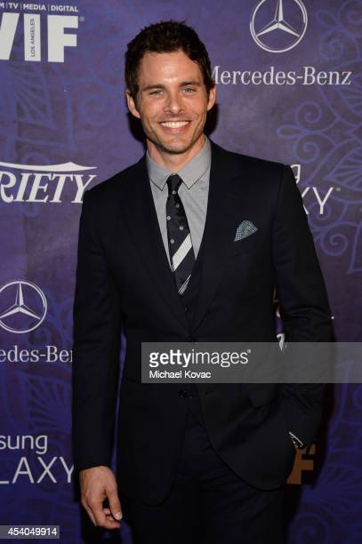 Actor James Marsden attends Variety and Women in Film Emmy Nominee Celebration powered by Samsung Galaxy on August 23 2014 in West Hollywood...