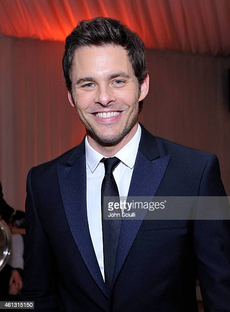 Actor James Marsden celebrates with PerrierJouet at The Art of Elysium's 8th Annual HEAVEN Gala presented by Samsung Galaxy at Hangar 8 on January 10...