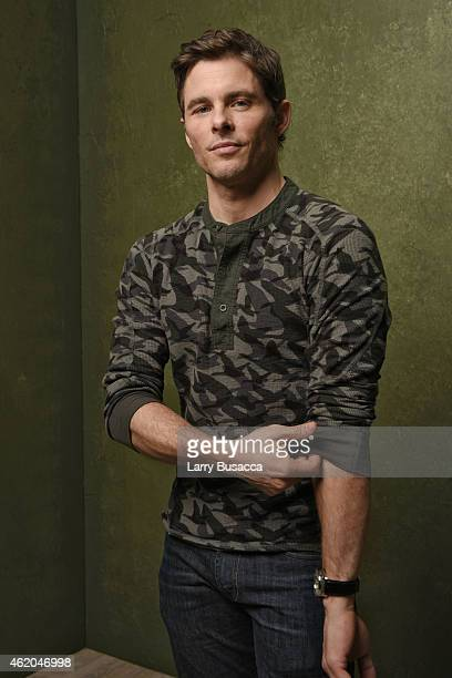 Actor James Marsden from DTrain poses for a portrait at the Village at the Lift Presented by McDonald's McCafe during the 2015 Sundance Film Festival...