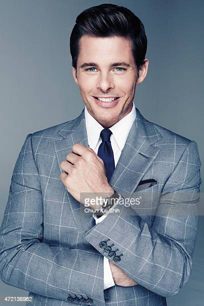 Actor James Marsden is photographed for GQ Style Taiwan on March 6 2015 in Los Angeles California