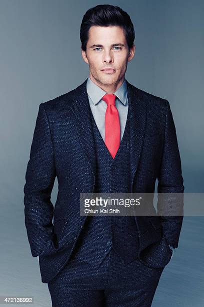 Actor James Marsden is photographed for GQ Style Taiwan on March 6 2015 in Los Angeles California PUBLISHED IMAGE