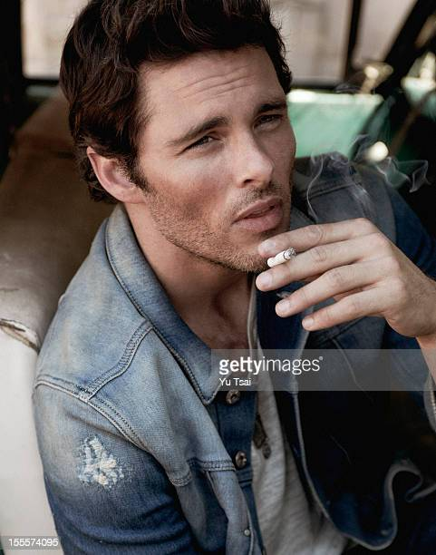 Actor James Marsden is photographed for In Style Man Russia on June 20 2012 in Los Angeles California PUBLISHED IMAGE