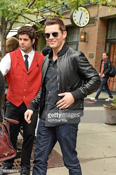 Actor James Marsden is seen on October 10 2013 in New York City