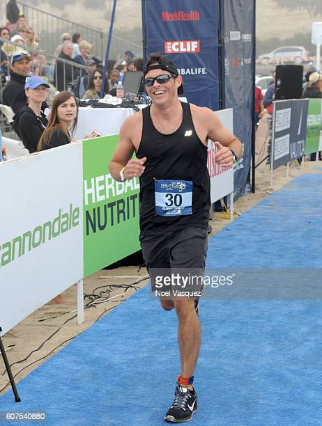 Actor James Marsden participates in the Nautica Malibu Traithalon presented by Equinox at Zuma Beach on September 18 2016 in Malibu California