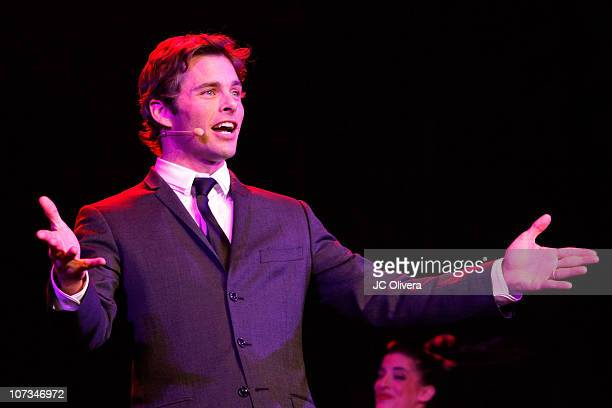 Actor James Marsden performs during The Trevor Live An Evening Benefiting The Trevor Project at Hollywood Palladium on December 5 2010 in Hollywood...