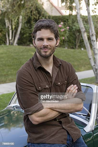 Actor James Marsden poses at a portrait session in Burbank, CA. Published image.