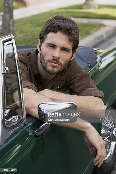 Actor James Marsden poses at a portrait session in Burbank, CA.