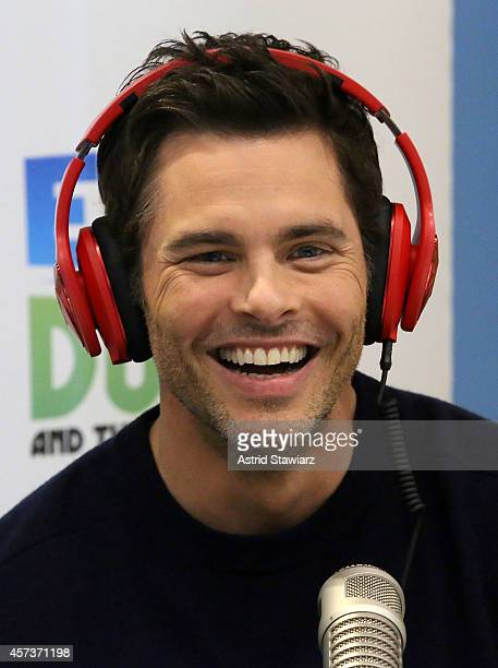 Actor James Marsden visits Elvis Duran's Z100 Morning Show at Z100 Studio on October 17 2014 in New York City