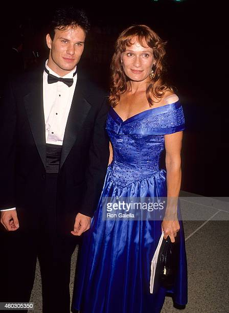 Actor James Marshall and actress Wendy Robie attend the 42nd Annual Primetime Emmy Awards on September 16, 1990 at the Pasadena Civic Auditorium in...