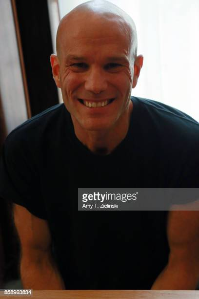 Actor James Marshall who portrayed the character James Hurley in the TV show Twin Peaks poses for a photograph during the Twin Peaks UK Festival 2017...