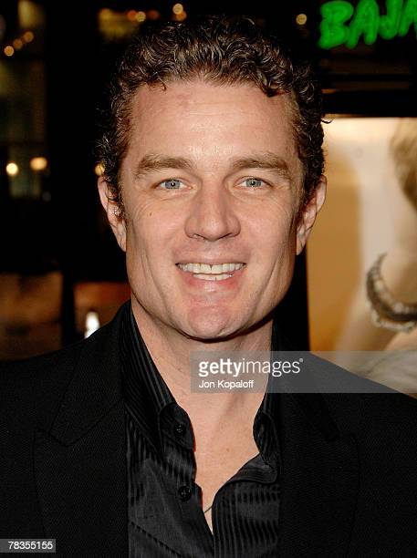 Actor James Marsters arrives at the Los Angeles premiere 'PS I Love You' at Grauman's Chinese Theater on December 9 2007 in Hollywood California