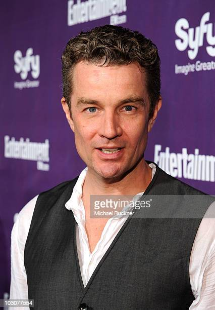 Actor James Marsters attends the EW and SyFy party during ComicCon 2010 at Hotel Solamar on July 24 2010 in San Diego California