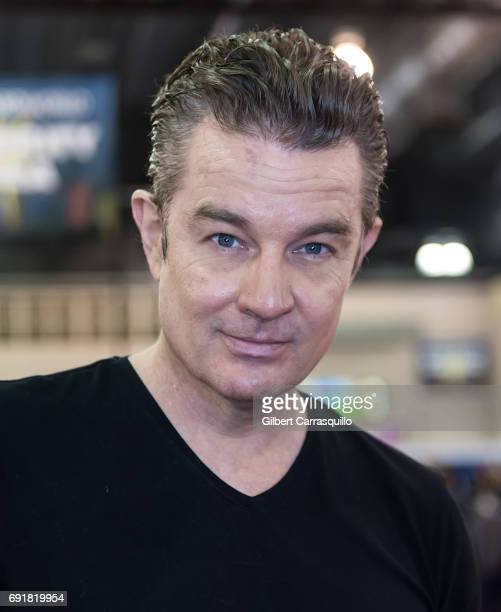 Actor James Marsters attends Wizard World Comic Con Philadelphia 2017 Day 2 at Pennsylvania Convention Center on June 2 2017 in Philadelphia...