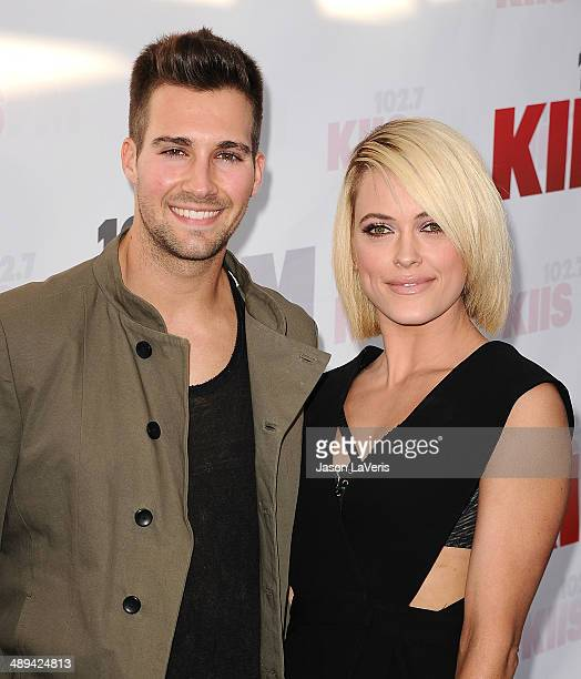 Actor James Maslow and dancer Peta Murgatroyd attend 1027 KIIS FM's 2014 Wango Tango at StubHub Center on May 10 2014 in Los Angeles California