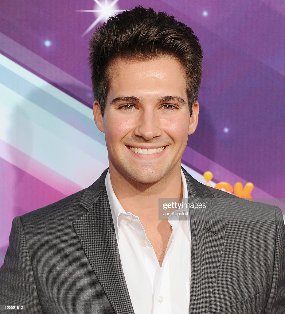 Actor James Maslow arrives at the TeenNick HALO Awards at The Hollywood Palladium on November 17, 2012 in Los Angeles, California.