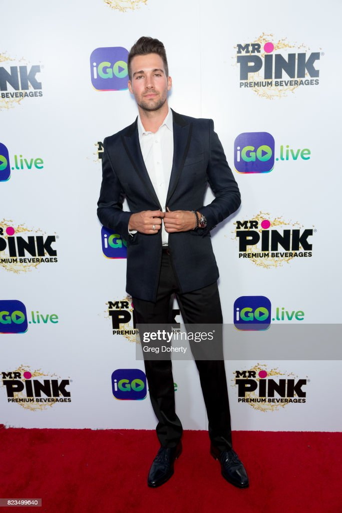 Actor James Maslow arrives for the iGo.live Launch Event at the Beverly Wilshire Four Seasons Hotel on July 26, 2017 in Beverly Hills, California.