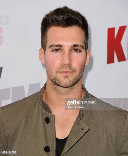 Actor James Maslow attends 1027 KIIS FM's 2014 Wango Tango at StubHub Center on May 10 2014 in Los Angeles California