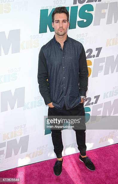 Actor James Maslow attends 1027 KIIS FM's 2015 Wango Tango at StubHub Center on May 9 2015 in Los Angeles California