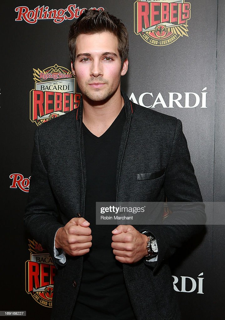Actor James Maslow attends Inaugural Bacardi Rebels event hosted by Rolling Stone at Roseland Ballroom on May 20, 2013 in New York City.