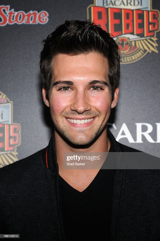 Actor James Maslow attends Rolling Stone hosts Bacardi Rebels at Roseland Ballroom on May 20, 2013 in New York City.
