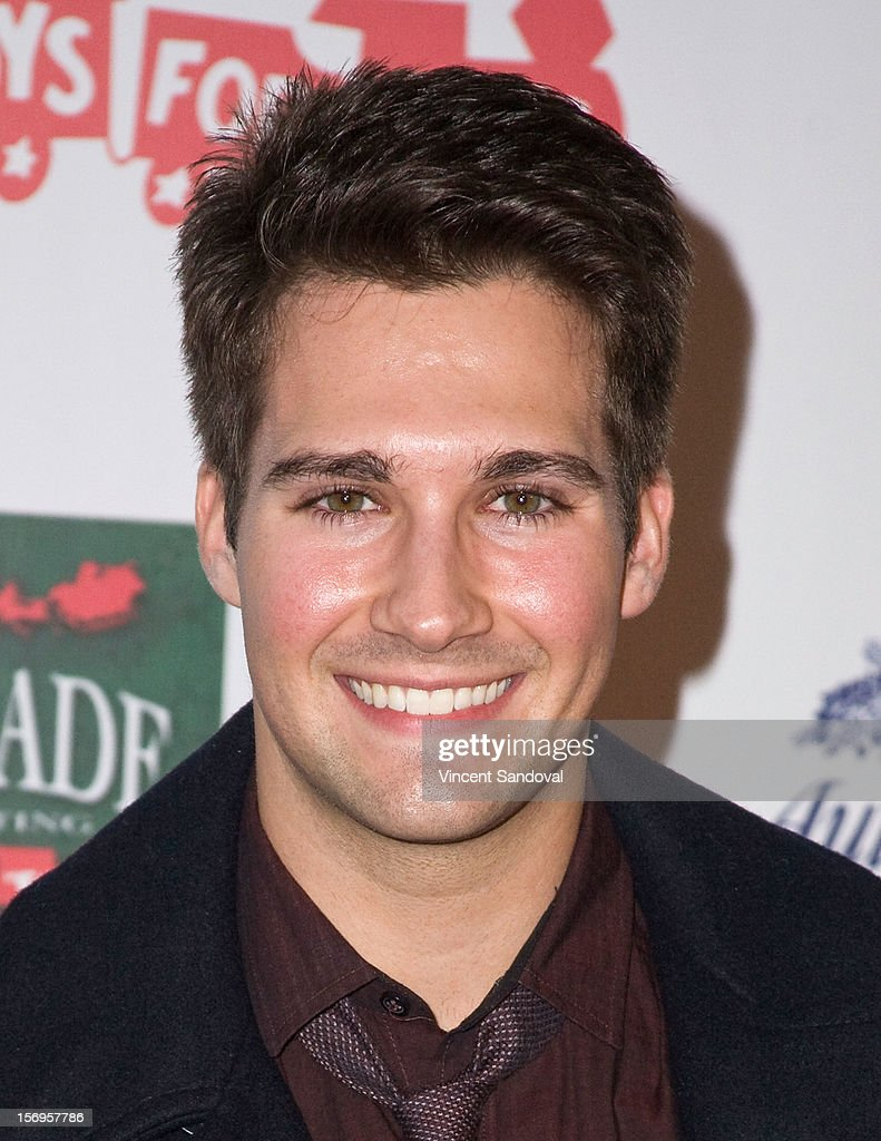 Actor James Maslow attends the 2012 Hollywood Christmas Parade Benefiting Marine Toys For Tots on November 25, 2012 in Los Angeles, California.