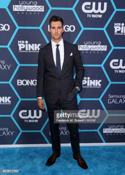 Actor James Maslow attends the 2014 Young Hollywood Awards brought to you by Samsung Galaxy at The Wiltern on July 27 2014 in Los Angeles California