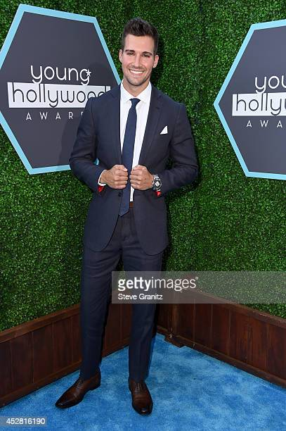 Actor James Maslow attends the 2014 Young Hollywood Awards held at The Wiltern on July 27 2014 in Los Angeles California