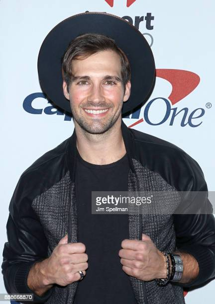 Actor James Maslow attends the Z100's iHeartRadio Jingle Ball 2017 at Madison Square Garden on December 8 2017 in New York City