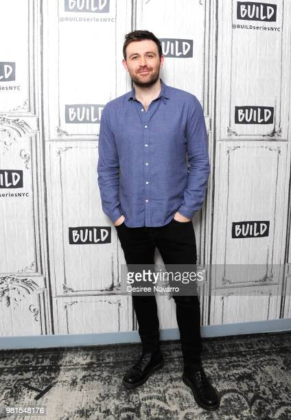 Actor James McArdle visits Build Series to discuss 'Angels in America' at Build Studio on June 22 2018 in New York City