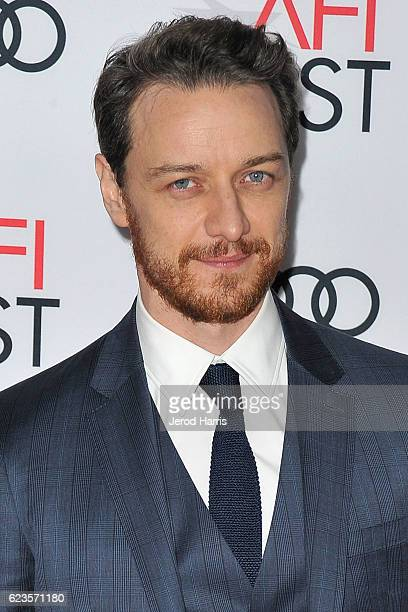 Actor James McAvoy arrives at AFI FEST 2016 Presented By Audi Screening Of Universal Picture's 'Split' at TCL Chinese Theatre on November 15 2016 in...