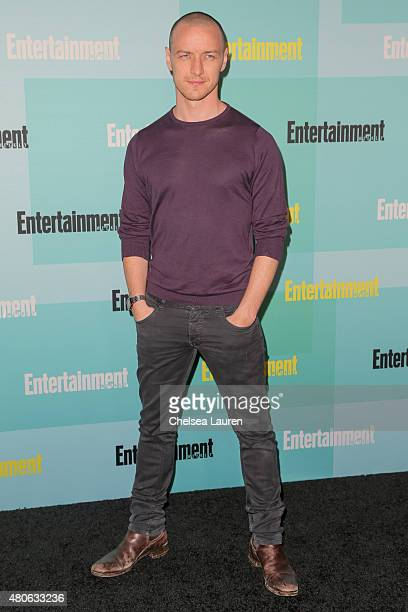 Actor James McAvoy arrives at the Entertainment Weekly celebration at Float at Hard Rock Hotel San Diego on July 11 2015 in San Diego California