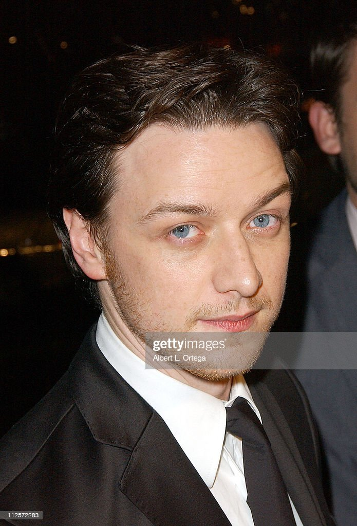 Actor James McAvoy arrives at the Los Angeles Premiere of Focus Features' 'Atonement' held on December 6, 2007 at The Academy Theater in Beverly Hills, California.