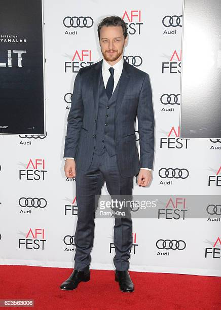 Actor James McAvoy attends AFI FEST 2016 Presented By Audi Screening Of Universal Pictures' 'Split' at TCL Chinese Theatre on November 15 2016 in...