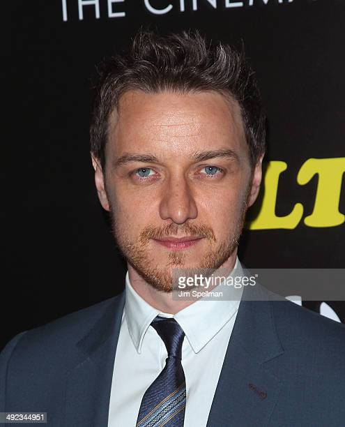 Actor James McAvoy attends Magnolia Pictures with The Cinema Society screening of 'Filth'at Landmark's Sunshine Cinema on May 19 2014 in New York City