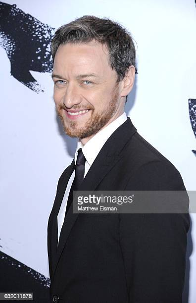 Actor James McAvoy attends 'Split' New York Premiere at SVA Theater on January 18 2017 in New York City