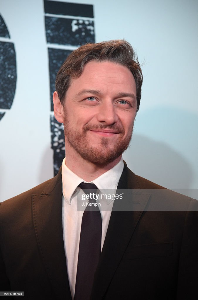 Actor James McAvoy attends 'Split' New York Premiere at SVA Theater on January 18, 2017 in New York City.