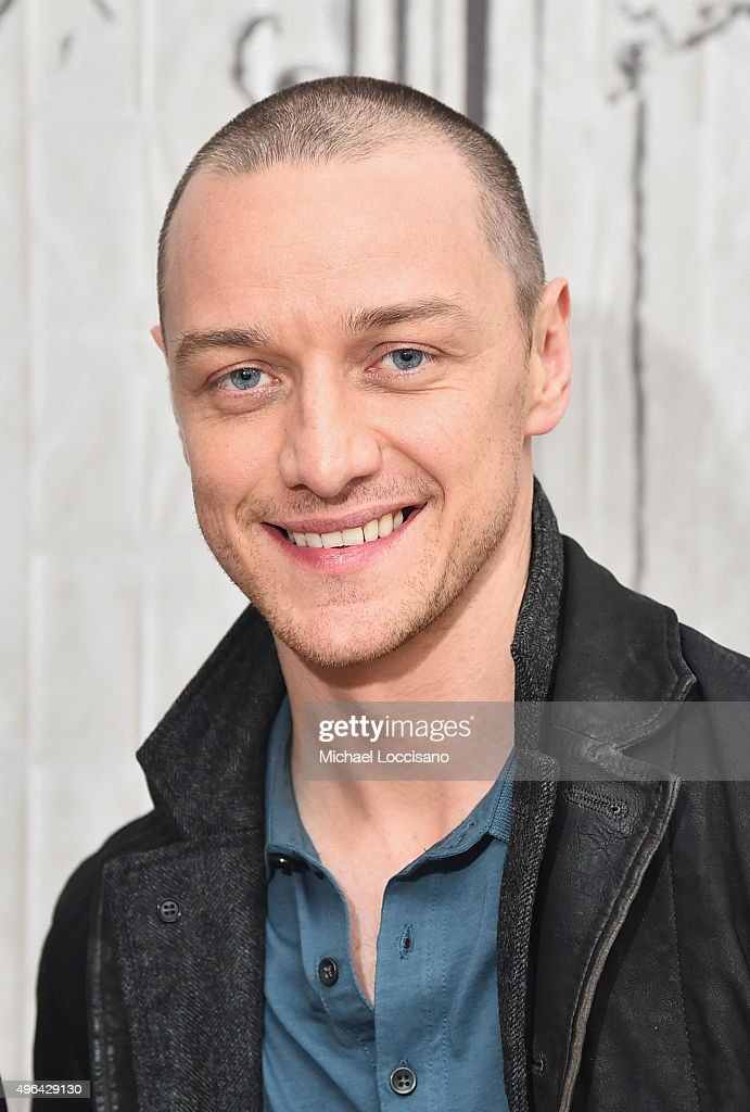 Actor James McAvoy attends the AOL BUILD Speaker Series: 'Victor Frankenstein' at AOL Studios In New York on November 9, 2015 in New York City.